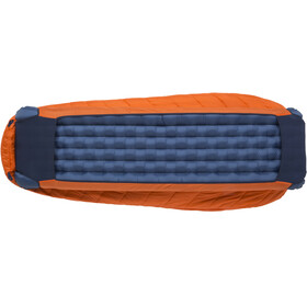 Big Agnes Lost Dog 45 Slaapzak Regular, orange/navy